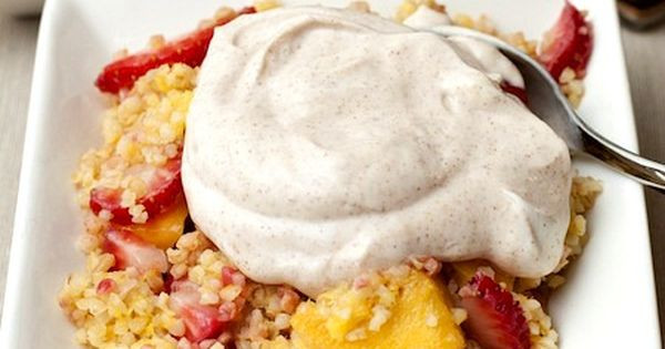 Mediterranean Desserts Healthy  Try a new healthy breakfast Mediterranean sweet couscous