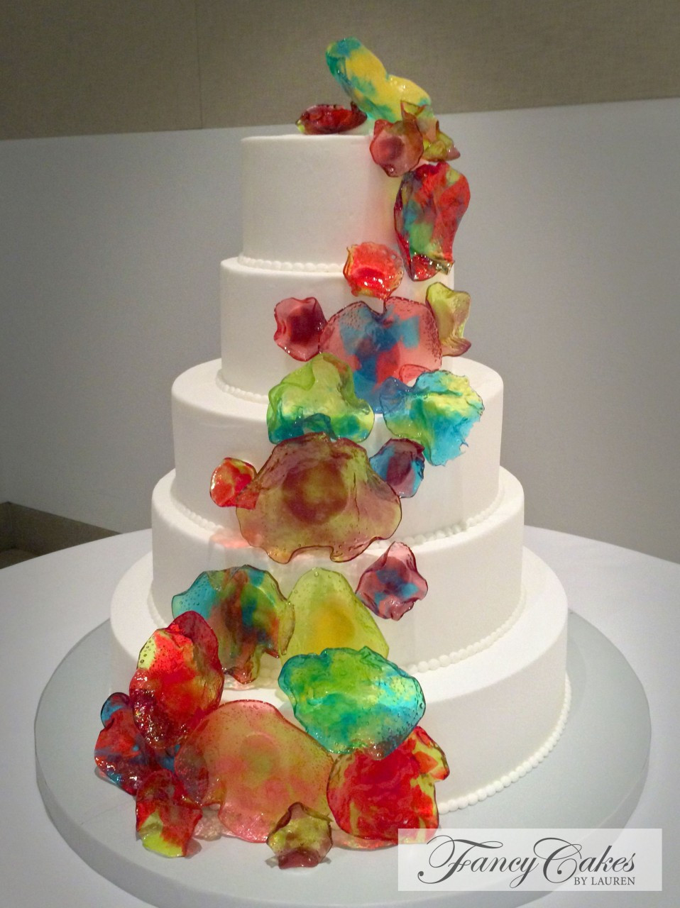 Meijer Wedding Cakes  Meijer Cakes Birthday Unique Chihuly Glass Inspired