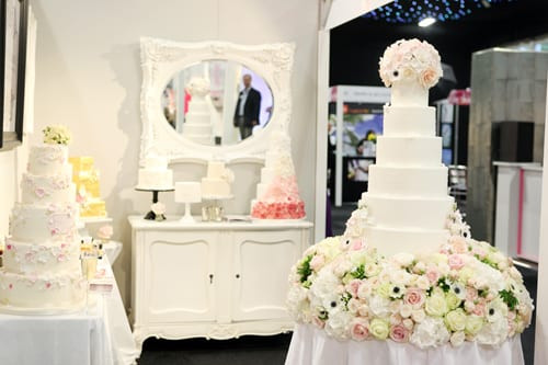 Meijers Wedding Cakes  Floral inspired cakes by Cake Maison at Brides The Show