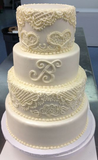 Memphis Wedding Cakes  Frost Bake Shop Wedding Cake Collierville TN