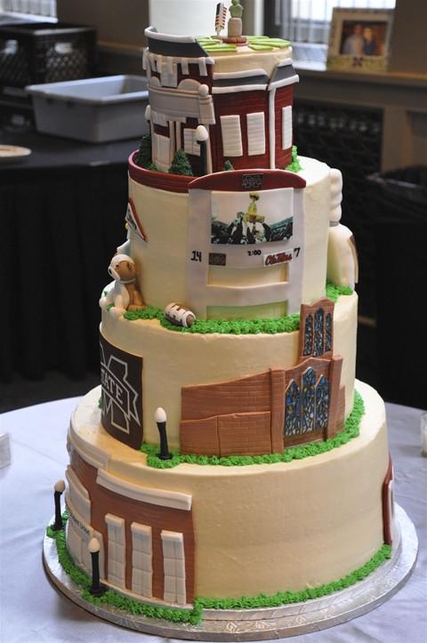 Memphis Wedding Cakes  Groom s Cake in Memphis Memphis Cake Bakery