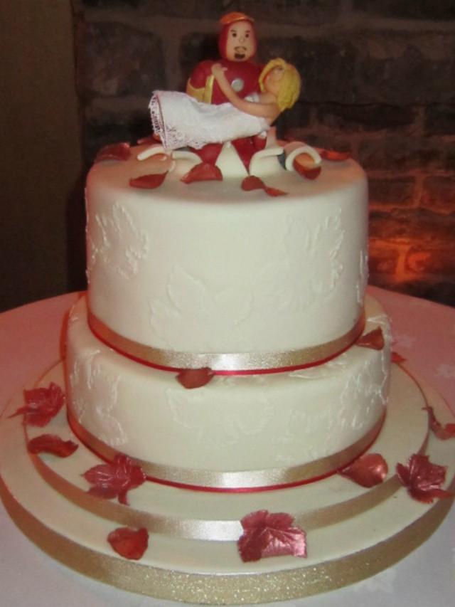 Men Wedding Cakes  Iron man wedding cake idea in 2017