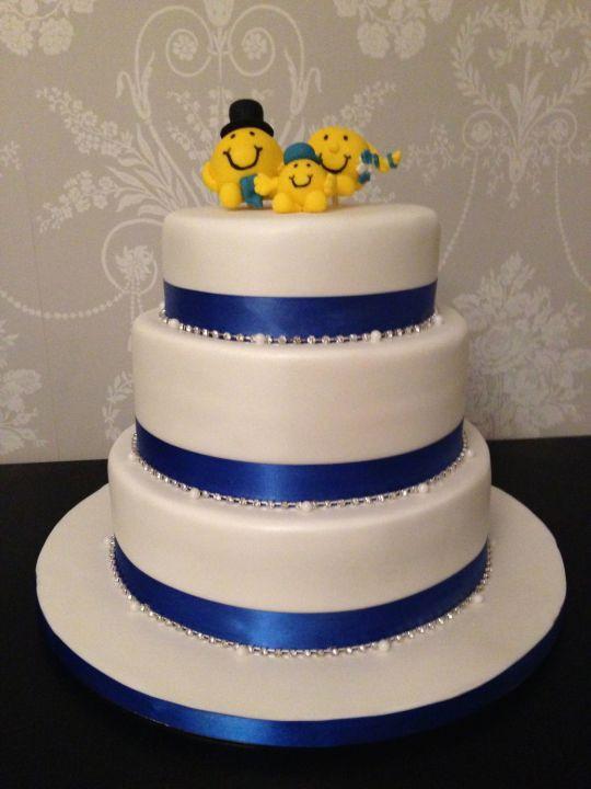 Men Wedding Cakes  Mr Men Wedding Cake cake by Domino Cakes CakesDecor