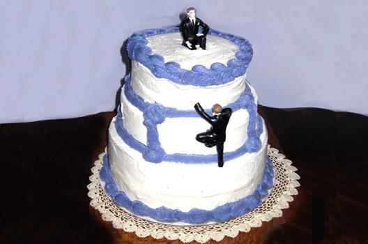 Men Wedding Cakes  Let Them Eat Wedding Cake The Good Men Project