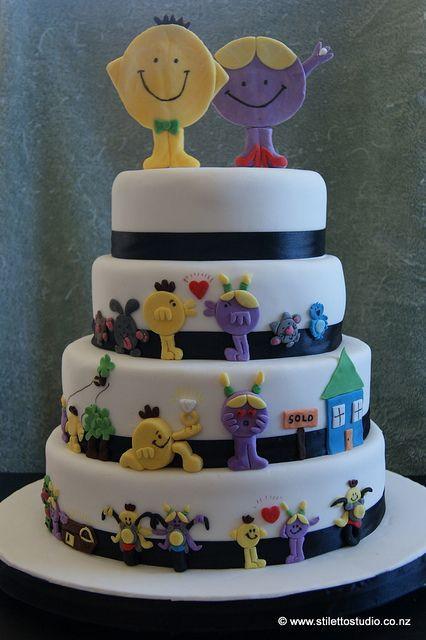 Men Wedding Cakes  DSC Mr Men Birthday