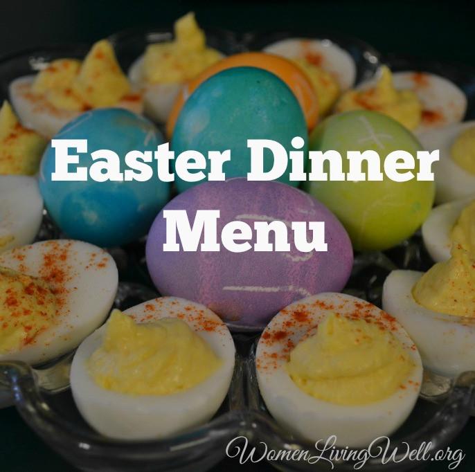 Menu For Easter Dinner  Easter Dinner Menu Women Living Well