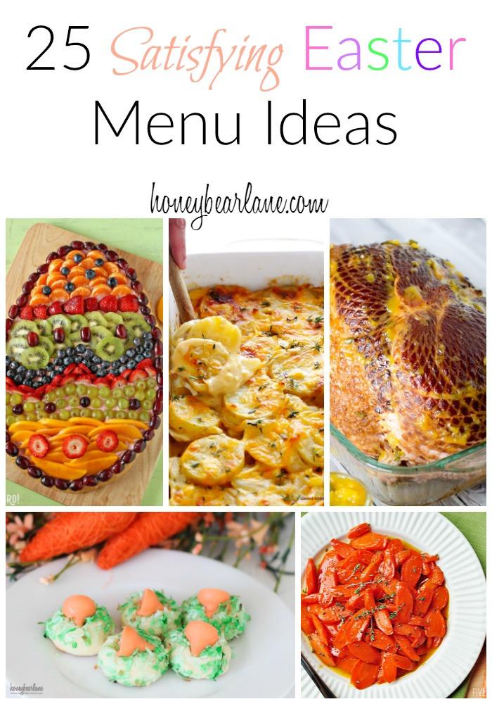 Menu For Easter Dinner  Top 10 Posts of 2016 Honeybear Lane