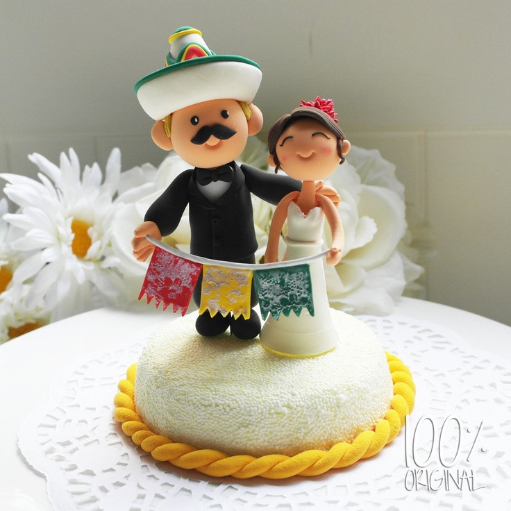 Mexican Wedding Cakes  Mexican Wedding Cake Toppers Wedding and Bridal Inspiration