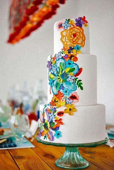 Mexican Wedding Cakes  30 Colorful Mexico Destination Wedding Ideas Weddingomania