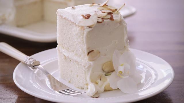 Mexican Wedding Cakes Allrecipes  White Almond Wedding Cake Video Allrecipes