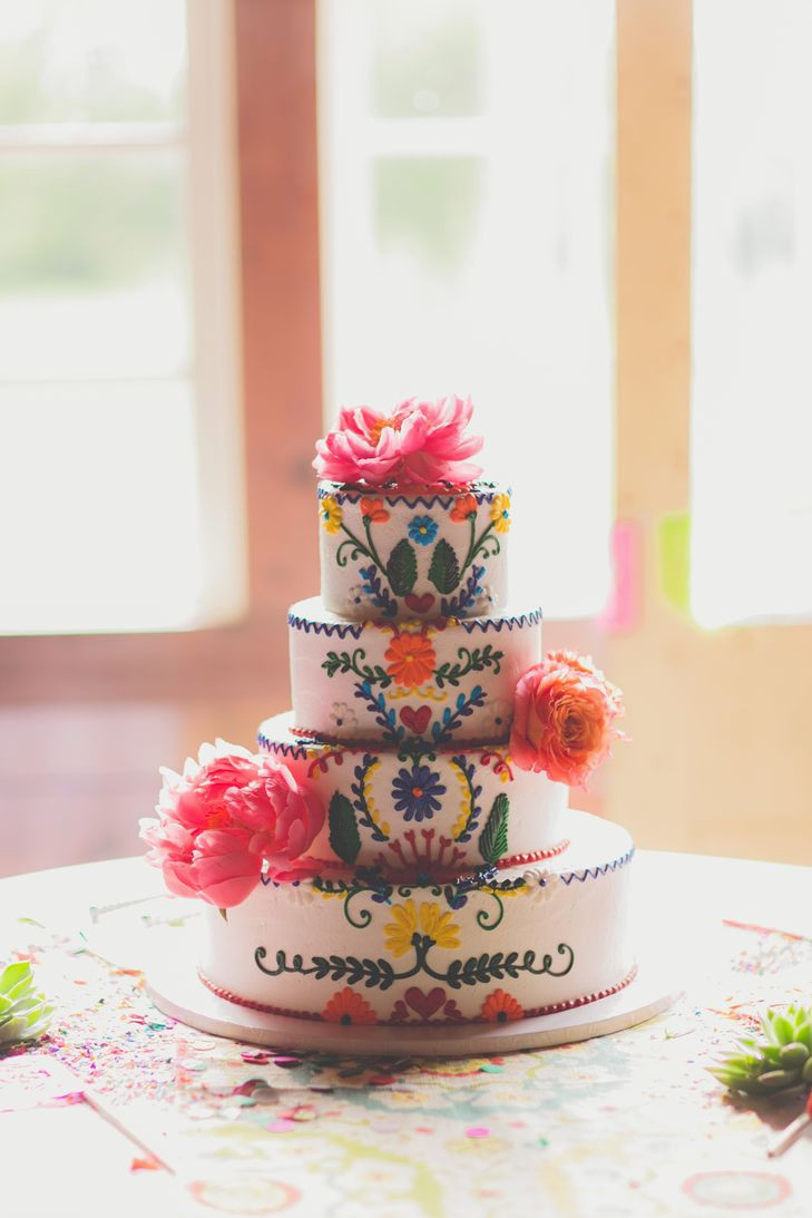 Mexican Wedding Cakes  Mexican Inspired Wedding Cake