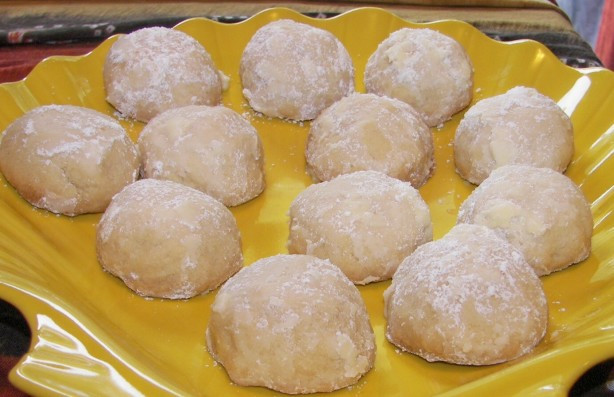 Mexican Wedding Cakes Cookie Recipe  Mexican Wedding Cakes Cookies Recipe Baking Food