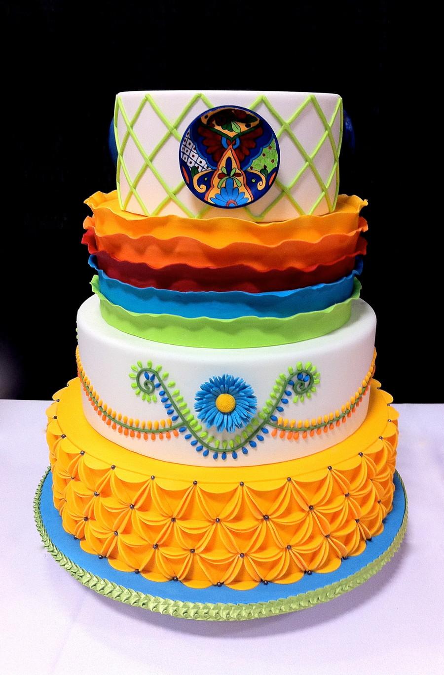 Mexican Wedding Cakes  Mexican Wedding Cake CakeCentral