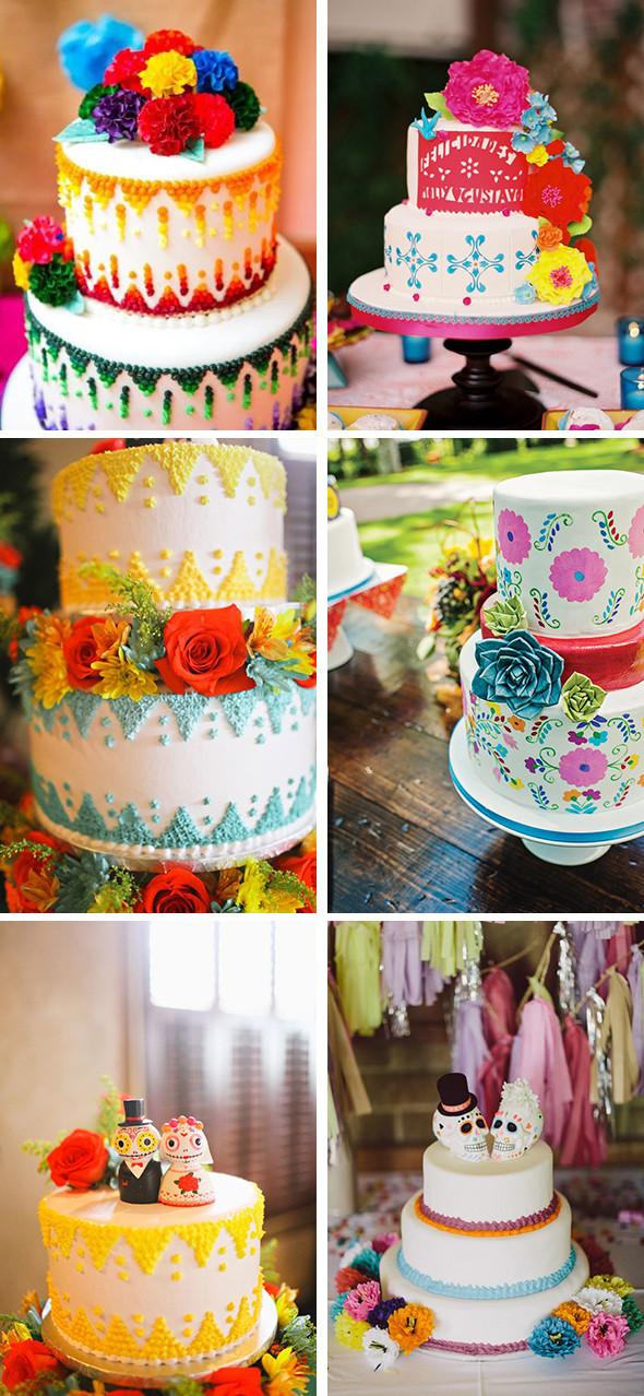 Mexican Wedding Cakes  Mexican Wedding Cake Ideas The Destination Wedding Blog