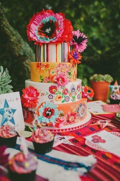 Mexican Wedding Cakes  80 Mexican Destination Wedding Ideas