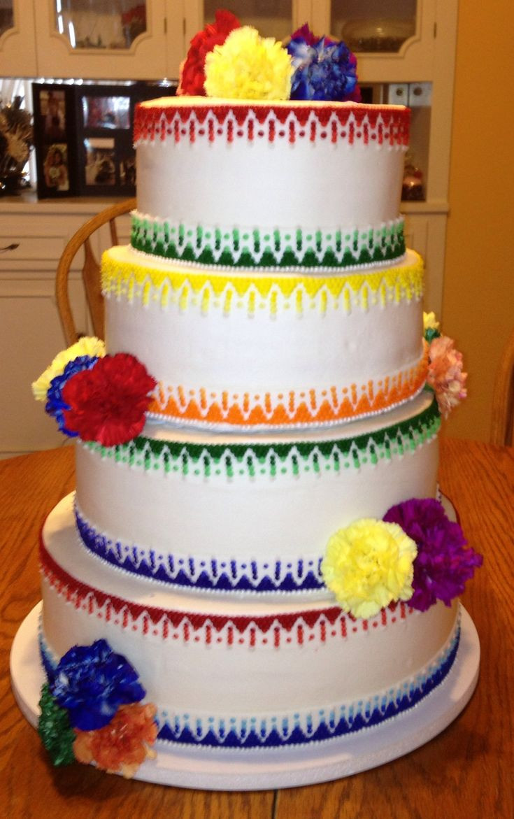 Mexican Wedding Cakes  1000 images about Spanish Style Wedding Cakes on