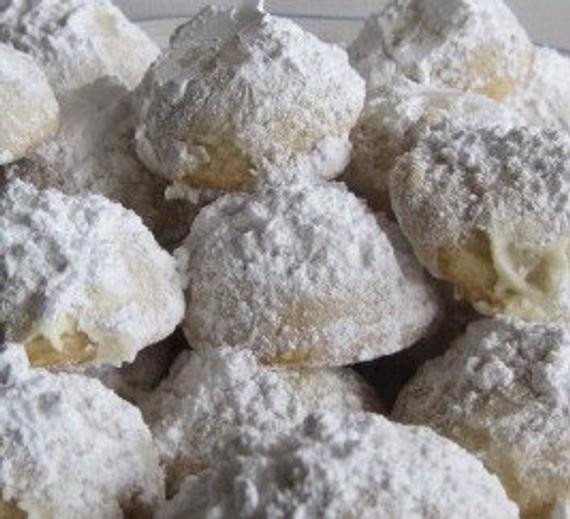 Mexican Wedding Cakes Without Nuts  2 dozen russian tea cakes mexican wedding cookies snow balls