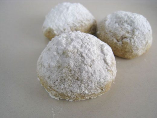 Mexican Wedding Cakes Without Nuts  Snowballs I make these without the nuts I call them