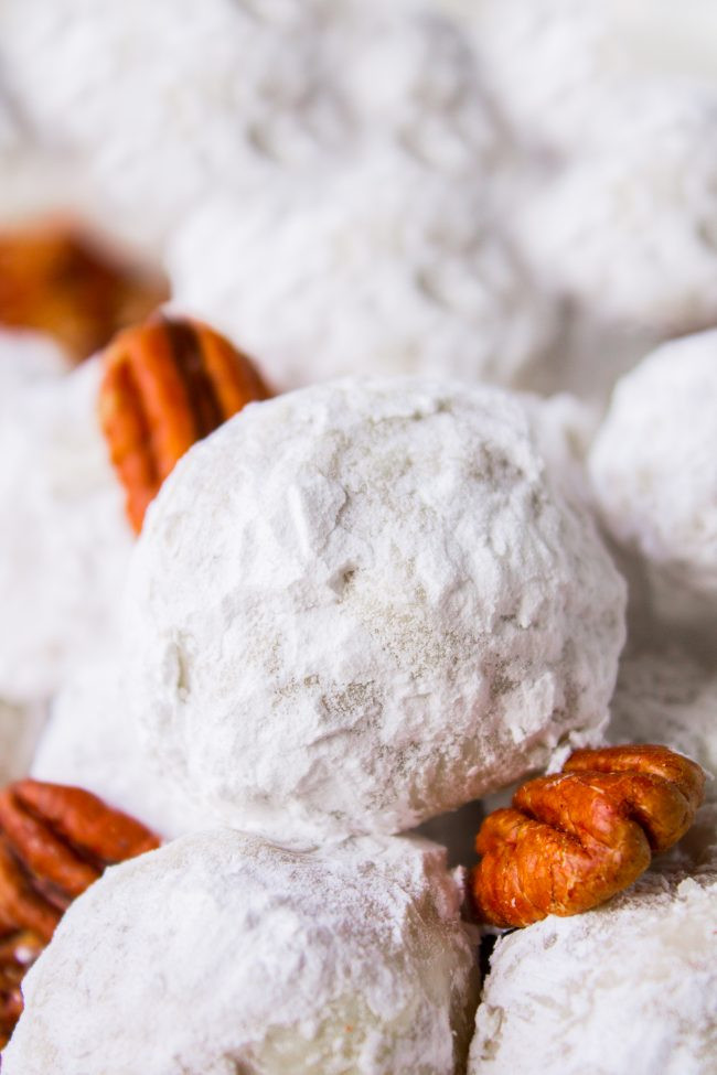 Mexican Wedding Cakes Without Nuts  Mexican Wedding Cookies Russian Tea Cakes The Food