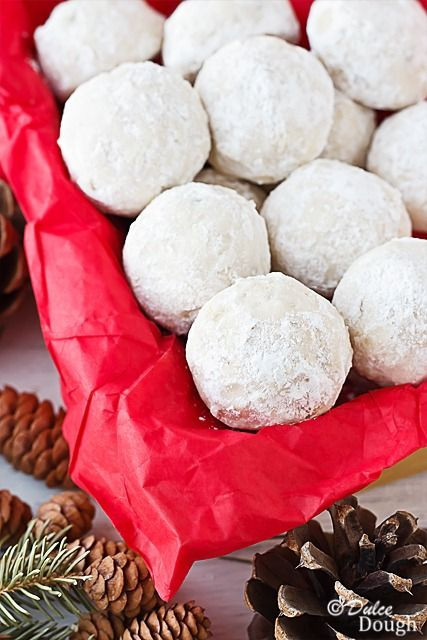 Mexican Wedding Cakes Without Nuts  Russian Teacakes Recipe