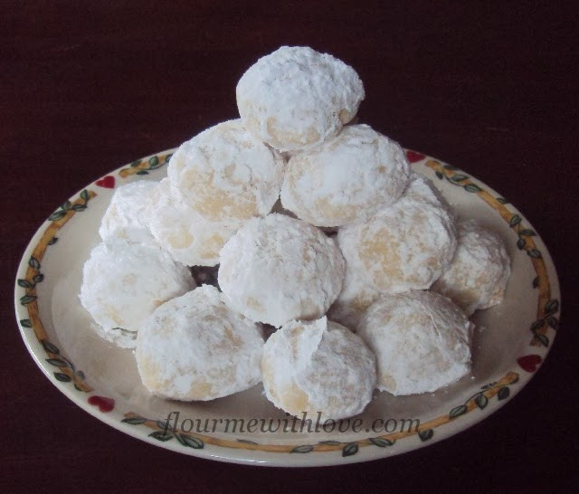 Mexican Wedding Cookie Recipes  Mexican Wedding Cookies Flour Me With Love