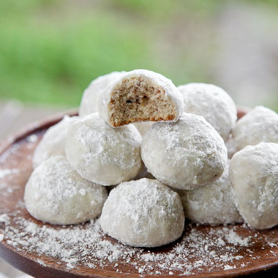 Mexican Wedding Cookies Recipe  Snixy Kitchen's Mexican Wedding Cookies Recipes