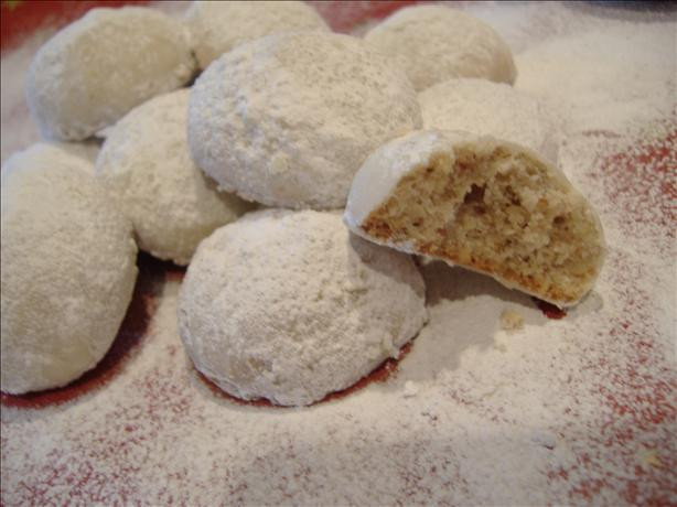Mexican Wedding Cookies Recipe  Mexican Wedding Cookies Recipe Food