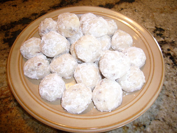 Mexican Wedding Cookies Recipe  Buttery Mexican Wedding Cookies Recipe Food