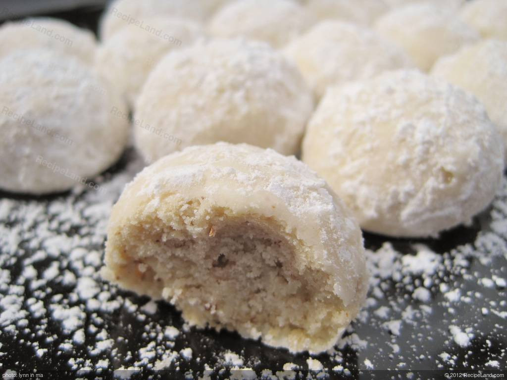 Mexican Wedding Cookies Recipe  Russian Tea Cakes Mexican Wedding Cookies Recipe
