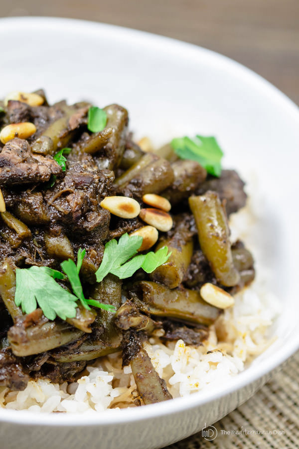 Middle Eastern Beef Recipes  Middle Eastern Beef Stew Recipe with Green Beans