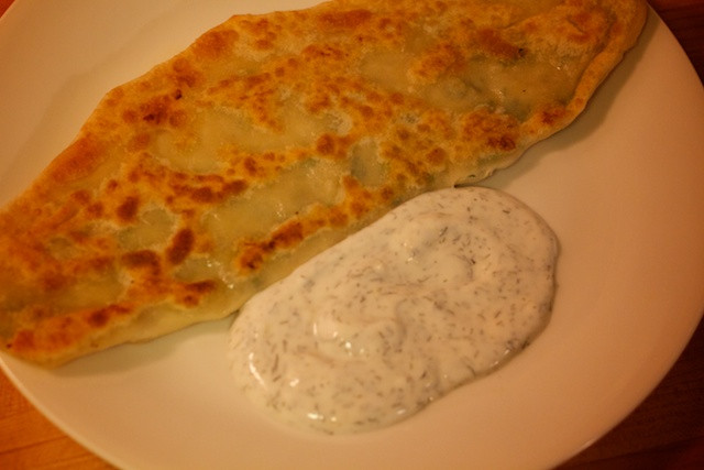 Middle Eastern Bread Recipe  Food of The Middle East Bolani Fried Afghan Flatbread