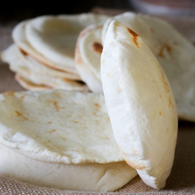 Middle Eastern Breads Recipes  HOW TO MAKE AND BAKE PITA BREAD FashionEdible