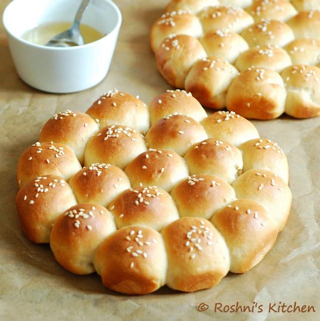 Middle Eastern Breads Recipes  Roshni s Kitchen Khaliat Nahal Middle Eastern Honey