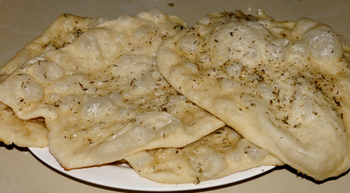Middle Eastern Breads Recipes  my discovery of Bread Middle Eastern Flatbread Man'ouche