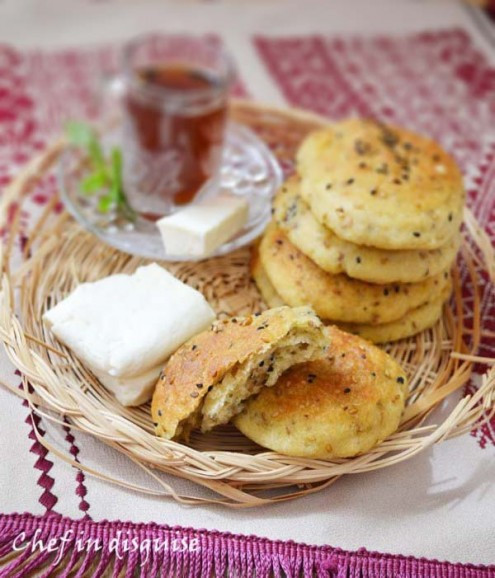 Middle Eastern Breads Recipes  Middle Eastern Seeds and Olive Oil Bread Recipe by Sawsan