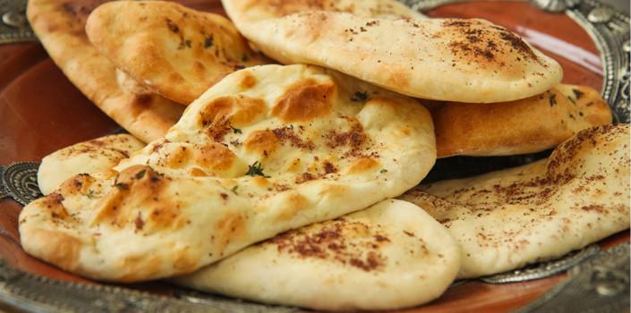 Middle Eastern Breads Recipes  Zaatar Spiced Pita Bread