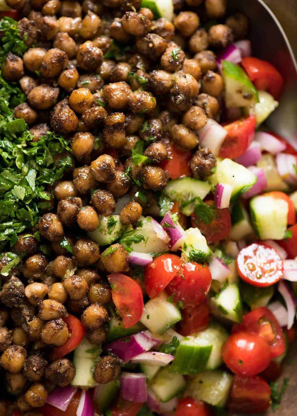 Middle Eastern Chickpea Recipes  Middle Eastern Chickpea Salad