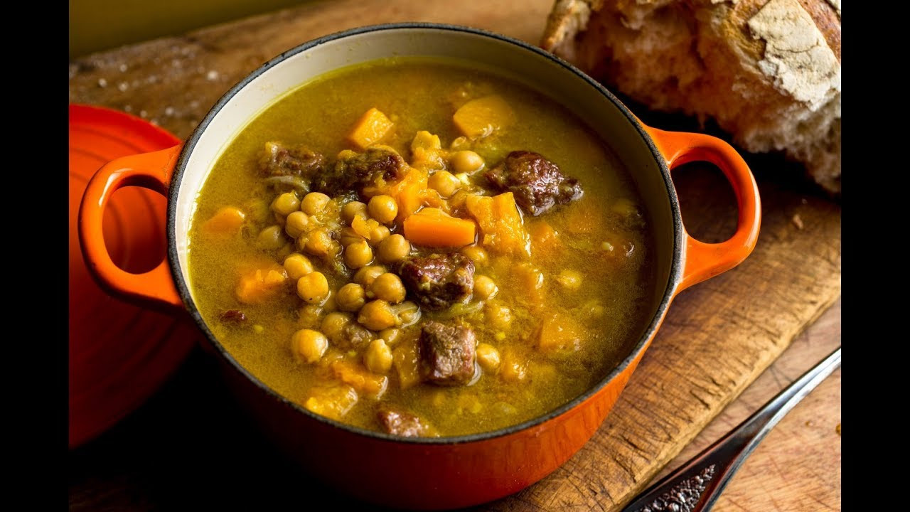 Middle Eastern Chickpea Recipes  Middle Eastern Lamb & Chickpeas recipe Pressure cooker