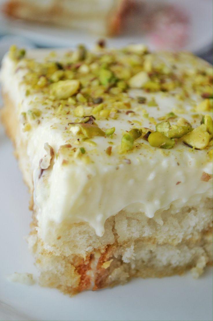 Middle Eastern Desert Recipes  Aish el Saraya Middle Eastern Dessert Recipe