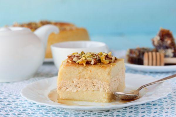 Middle Eastern Desert Recipes  Middle Eastern Kodafa Honey Cake – 12 Tomatoes