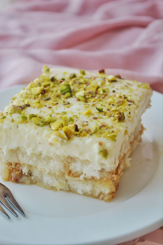 Middle Eastern Dessert Recipe  Aish el Saraya Middle Eastern Dessert Savory&SweetFood