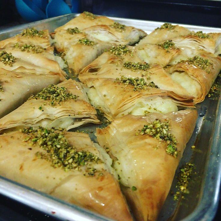 Middle Eastern Dessert Recipes  Middle Eastern Desserts Warbat or Kullaj cheese stuffed