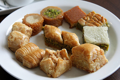 Middle Eastern Desserts  Al Bohsali Middle Eastern Pastries David Lebovitz