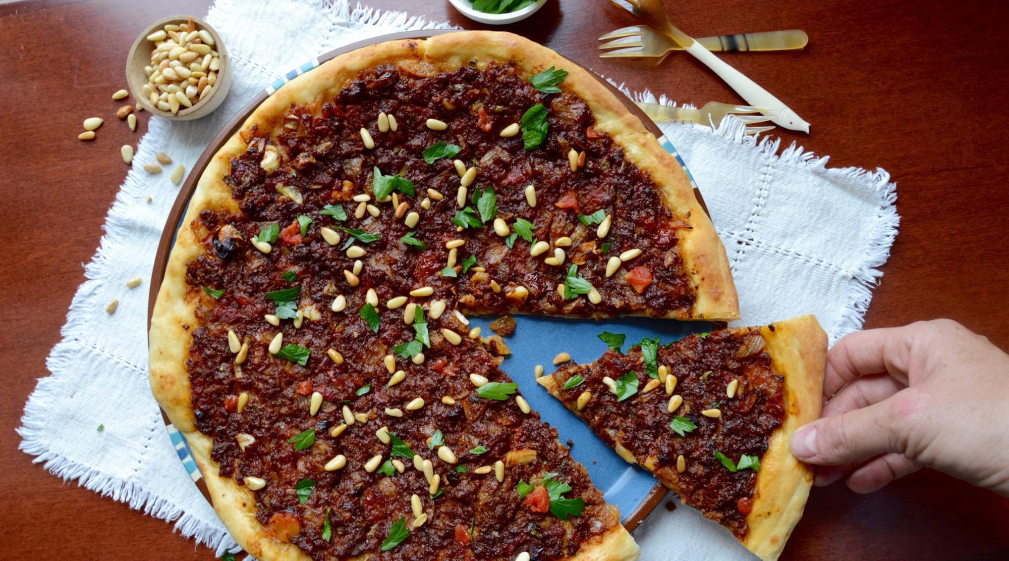 Middle Eastern Flatbread Recipes  Savory Middle Eastern Flatbread