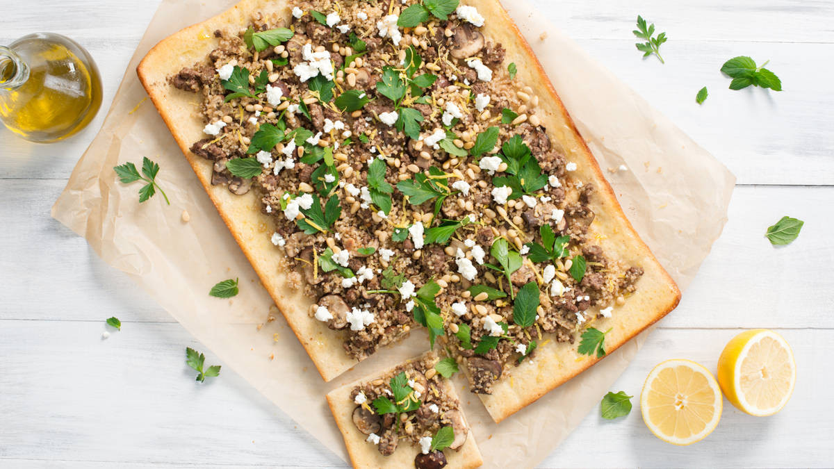 Middle Eastern Flatbread Recipes  Middle Eastern Flatbread Recipe LifeMadeDelicious