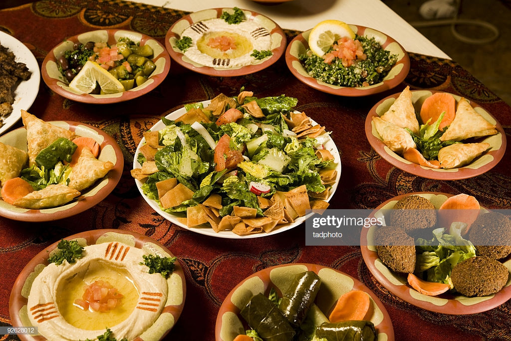 Middle Eastern Food Recipes Appetizers  Middle Eastern Appetizers Stock