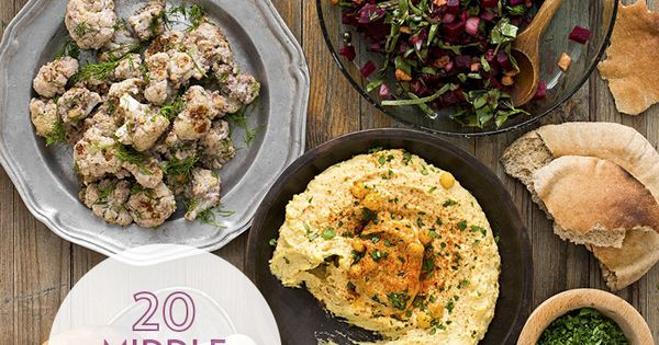Middle Eastern Food Recipes Appetizers  Turkish Lebanese and other Middle Eastern flavors star in