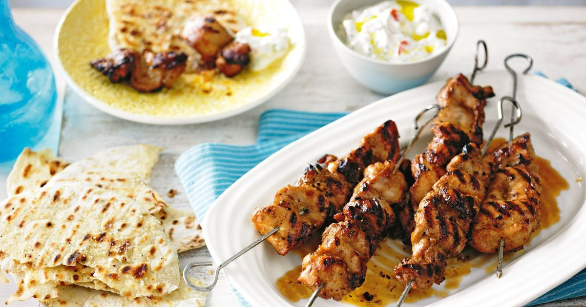 Middle Eastern Food Recipes  Middle Eastern chicken skewers