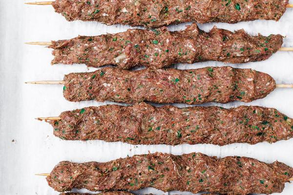 Middle Eastern Ground Beef Recipe  Kofta Kebab Recipe The Mediterranean Dish