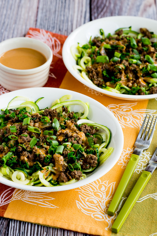 Middle Eastern Ground Beef Recipe  18 Spiralizer Recipes That ll Make You Love Veggies Again